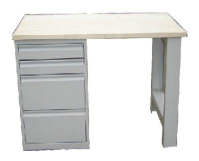 Banc de lucru cu 4 sertare L1500 ECO
