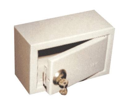 Miniseif metalic cu cheie ECO