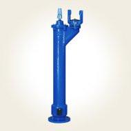 Hidrant subteran A.I. 1.25 m - cot cu picior - cutie protectie DN65/80