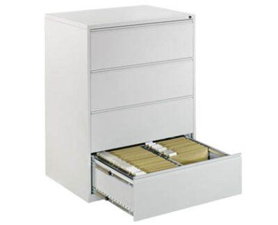 Clasificator metalic dublu cu 4 sertare 84x62x133 cm CEHA