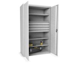 Dulap metalic pentru scule cu 4 sertare si 3 rafturi, EXTRA