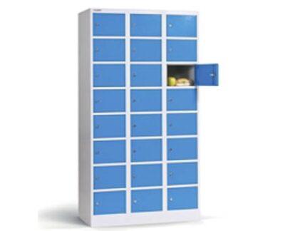 Dulap metalic pentru valori cu 24 compartimente BOX