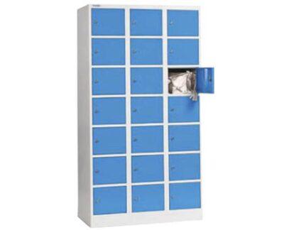 Dulap metalic pentru valori cu 21 compartimente BOX