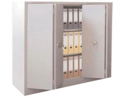 Dulap metalic cu usi culisante 2 rafturi, 120x42x100 cm, CEHA