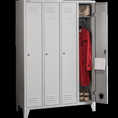 Vestiar metalic cu 4 usi PROJECT 41200