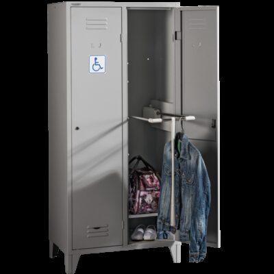 Vestiar metalic pentru persoanele cu dizabilitati fizice HANDICAP PR2800
