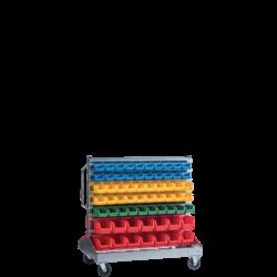 Standuri de organizare avand in dotare cutii SORTIMENT ROLL 128
