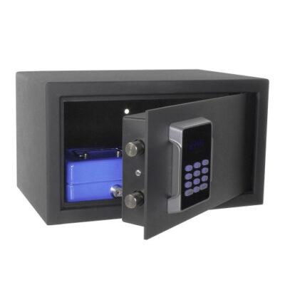Seif mobila Neptun 1 antracit cu inchidere electronica si ecran tactil